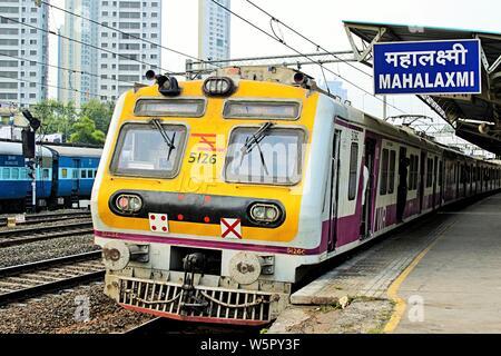 Mahalaxmi Railway Station Mumbai Maharashtra India Asia - Stock Photo
