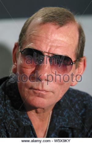 Pete Postlethwaite At The Between Strangers Press Conference.At The Toronto International Film Festival.At The Four Seasons Hotel In Toronto, Canada..9-13-2002. Credit: 1300071Globe Photos/MediaPunch - Stock Photo