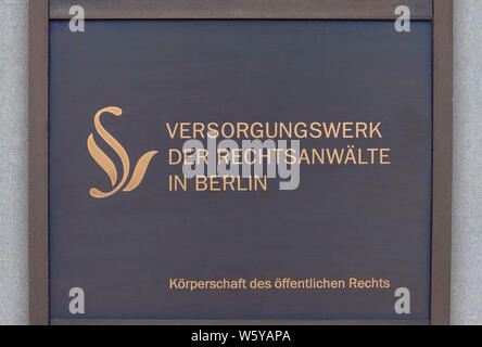 Supply of lawyers in Berlin - Stock Photo