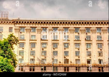Kiev, Khreshchatyk Street - Stock Photo