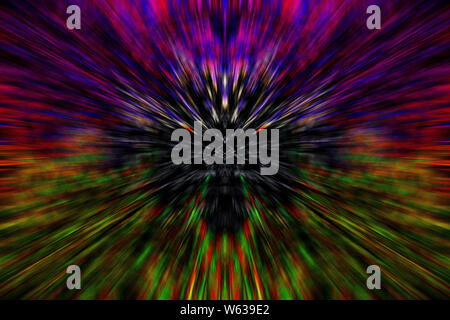 Psychedelic Shapes Design Background Wallpaper High Quality