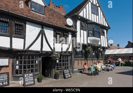 Gert & Henry's restaurant in the city centre York North Yorkshire England UK United Kingdom GB Great Britain - Stock Photo