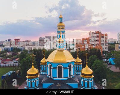 Russia. Ufa. The Church of the Nativity of the Blessed Virgin Mary.