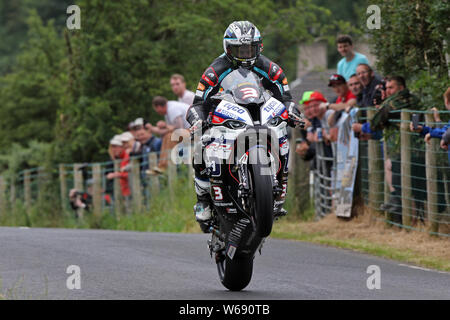 Michael Dunlop Armoy Road Races 2019 - Stock Photo