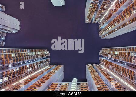 --FILE--View of the houses of public rental housing (PRH) in Hong Kong, China, 25 October 2017. - Stock Photo