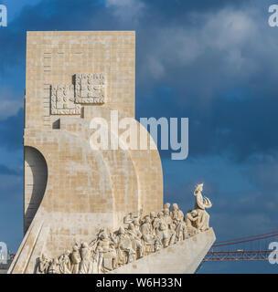 Padrao dos Descobrimentos Monument; Lisbon, Lisboa Region, Portugal