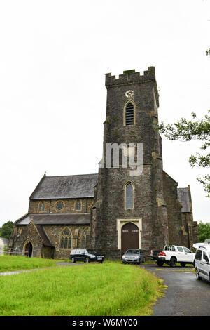 St David's Church in Carmarthen. - Stock Photo