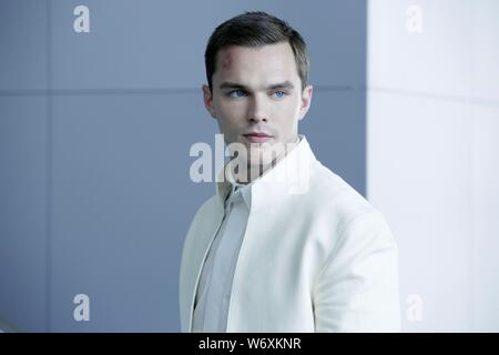 NICHOLAS HOULT in EQUALS (2015), directed by DRAKE DOREMUS. Credit: SCOTT FREE PRODUCTIONS / Album - Stock Photo