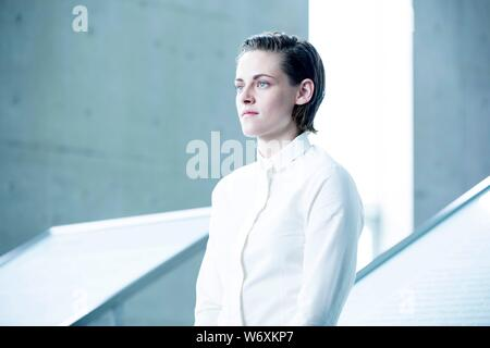 KRISTEN STEWART in EQUALS (2015), directed by DRAKE DOREMUS. Credit: SCOTT FREE PRODUCTIONS / Album - Stock Photo