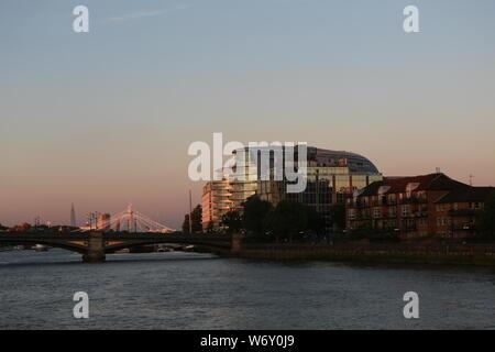 London Open House River Cruise - Stock Photo