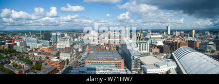 View from the Beetham Tower, Manchester - Stock Photo