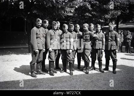 Reichsarbeitsdienst RAD Ausbildung - The Reich Labour Service Training School - Stock Photo