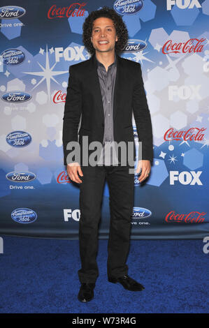 LOS ANGELES, CA. March 12, 2010: Justin Guarini at the party for the American Idol Final 12 at Industry, Los Angeles. © 2010 Paul Smith / Featureflash - Stock Photo