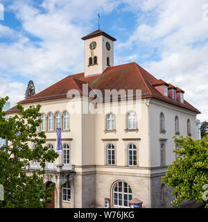 Sindelfingen, Baden Wurttemberg/Germany - May 11, 2019: Detail view on City Gallery building, Stadtgalerie. - Stock Photo