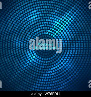 Abstract disco background with halftone. - Stock Photo
