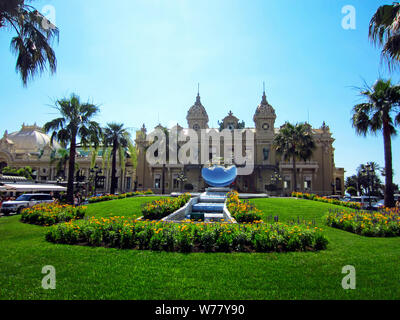 Casino in Monte Carlo, Monaco - Stock Photo