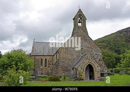 St Mary's Church, Beddgelert, Gwynedd, Wales