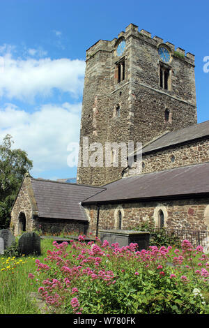 Church of St Mary and All Saints, Conwy, Wales