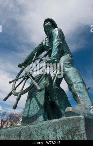 Gloucester Fisherman's memorial MA - Stock Photo