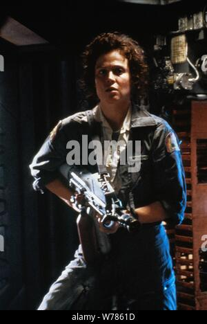 SIGOURNEY WEAVER, ALIEN, 1979 - Stock Photo