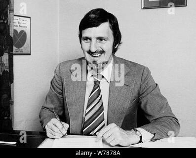 JIMMY HILL, MATCH OF THE DAY, 1973 - Stock Photo