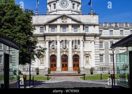 Department of the Taoiseach,the Irish Prime Minister, Government Buildings, Upper Merrion Street, Dublin, Ireland - Stock Photo