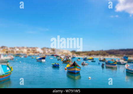 Marsaxlokk is a small, traditional fishing village in the South Eastern Region of Malta. It has a harbour, and is a tourist attraction known for its v