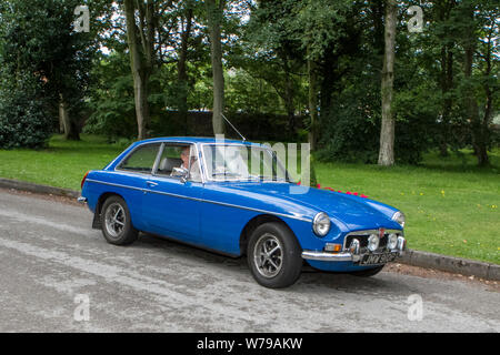 JMW910P Motoring classics, historics, vintage motors and collectibles 2019; Lytham Hall transport show, collection of cars & vehicles of yesteryear. - Stock Photo