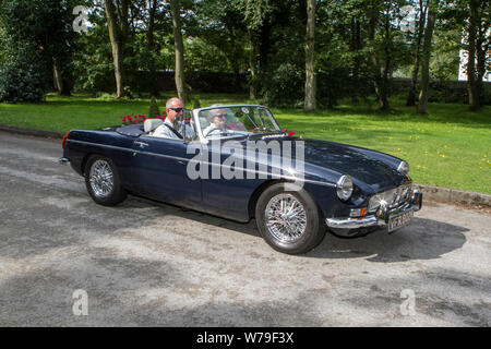 VFR802K Motoring classics, historics, vintage motors and collectibles 2019; Lytham Hall transport show, collection of cars & vehicles of yesteryear. - Stock Photo