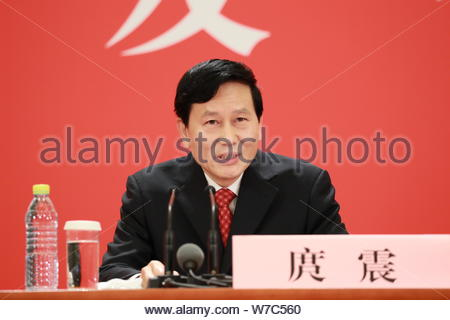 Tuo Zhen, spokesperson for the 19th National Congress of the
