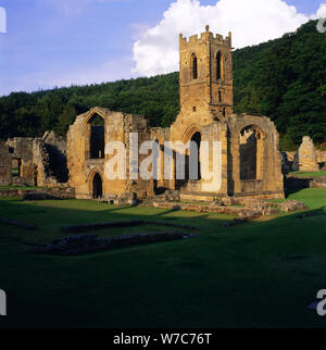 Mount Grace Priory, North Yorkshire, 1996. Artist: Max Alexander - Stock Photo