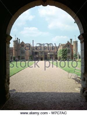 Charlecote Park, Warwickshire. Artist: J Litten - Stock Photo