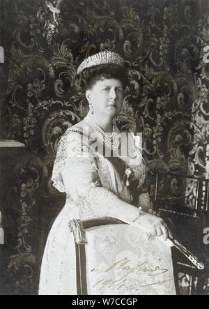 Grand Duchess Maria Alexandrovna of Russia, Duchess of Edinburgh and Duchess of Saxe-Coburg and Goth - Stock Photo