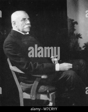 Sir Edward Elgar, (1857-1934), English composer, early 20th century. Artist: Unknown - Stock Photo