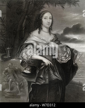 Mrs Claypole (Elizabeth Cromwell), second daughter of Oliver Cromwell, 17th century, (1899). Artist: Unknown - Stock Photo