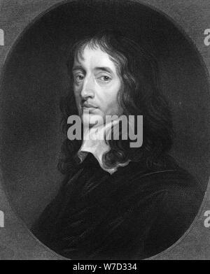 John Selden, 17th century English jurist, (1836). Artist: Robert Hart - Stock Photo