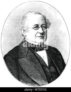 Prince Gorchakov, 19th century Russian diplomat and statesman, (1900). Artist: Unknown - Stock Photo