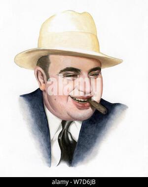'Al Capone', 2007. Artist: Karen Humpage - Stock Photo