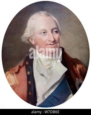Charles Cornwallis, 1st Marquess Cornwallis, English military commander, late 18th century, (c1920).Artist: H Ogborne - Stock Photo