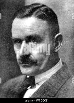 Thomas Mann (1875-1955), German novelist and short story writer, early 20th century. Artist: Unknown - Stock Photo