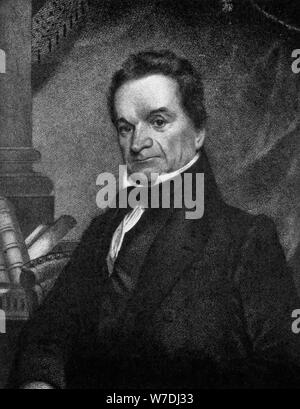 Edward Livingston (1764-1836), American jurist and statesman, 19th century (1908). Artist: Unknown - Stock Photo