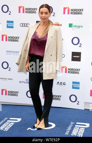 Jul 05, 2019 - London, England, UK - Louise Redknapp attending Nordoff Robbins' O2 Silver Clef Awards 2019, Grosvenor House Hotel - Stock Photo