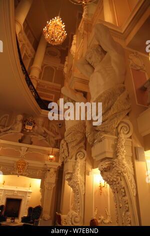 Interior, Taleon Imperial Hotel, St Petersburg, Russia, 2011.  Artist: Sheldon Marshall - Stock Photo