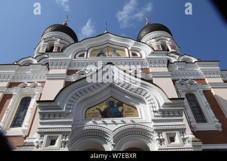 Alexander Nevsky Cathedral, Tallin, Estonia, 2011. Artist: Sheldon Marshall - Stock Photo