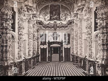 'Granada. Interior of the Cartuja. The Sacristy', c1908. Artist: Universal Process Engraving  Co Ltd. - Stock Photo