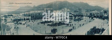 Plaza Vista General Location Exterior Moron De Almazan Soria Spain Stock Photo Alamy