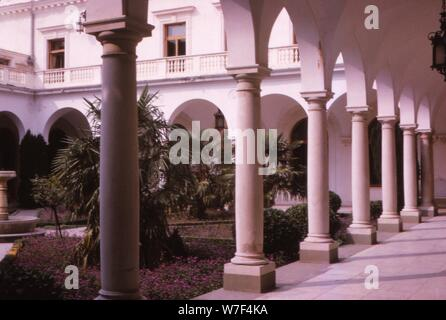 The Tsars Winter Palace, Yalta, Russia, c1960.  Artist: CM Dixon. - Stock Photo