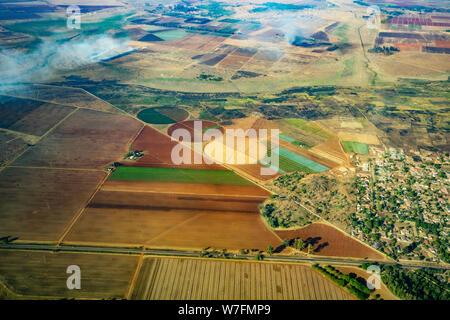 Aerial Photography of Harare, Zimbabwe - Stock Photo