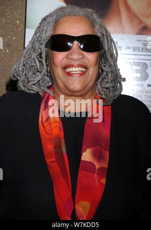 Manhattan, United States Of America. 25th Aug, 2011. NEW YORK, NY - AUGUST 22: Toni Morrison attends 'The Debt' screening at the Tribeca Grand Hotel - Screening Room on August 22, 2011 in New York City. People: Toni Morrison Credit: Storms Media Group/Alamy Live News - Stock Photo