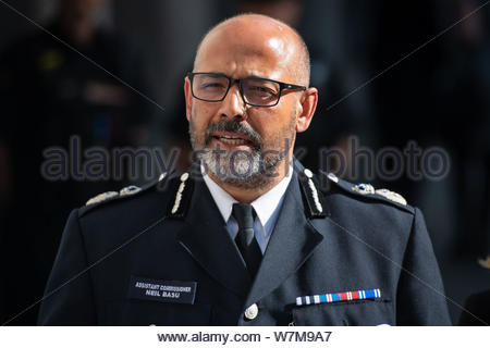 File photo dated 28/06/19 of Metropolitan Police Assistant Comissioner Neil Basu who has said that up to 80% of those who wanted to attack the UK were British-born or raised. - Stock Photo
